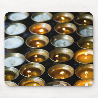 Yak Butter Candles Mouse Pad