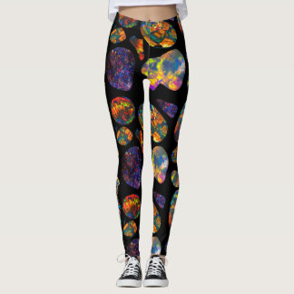 Yak Daks Original Design - 'Coober Pedy Opal' Leggings