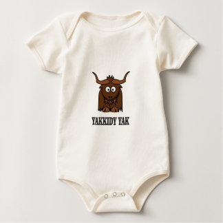 yakkidy yak baby bodysuit