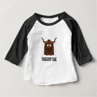 yakkidy yak baby T-Shirt