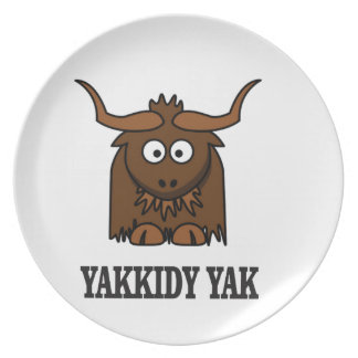 yakkidy yak party plates