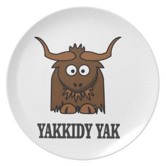 yakkidy yak plate
