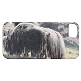 Yaks Vintage Painting Case For The iPhone 5