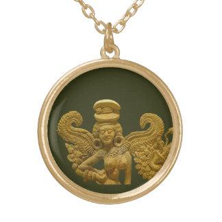 Yakshi of Chandraketu Gold Plated Necklace