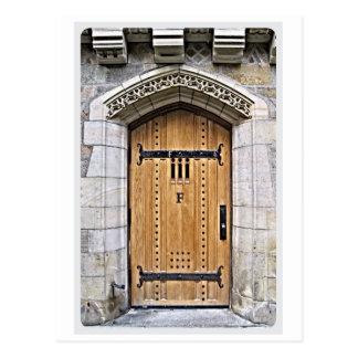 Yale Gothic Door F Postcard