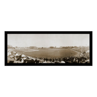 Yale vs. Princeton Baseball Photo 1904 Poster