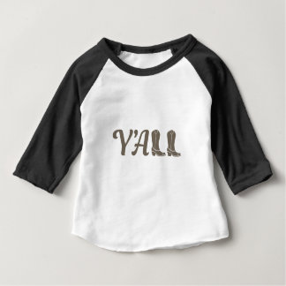 Yall Cowgirl Boots Baby T-Shirt