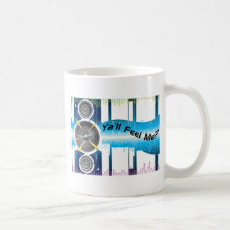 Ya'll Feel Me Bass Equalizer Soundwaves Coffee Mug