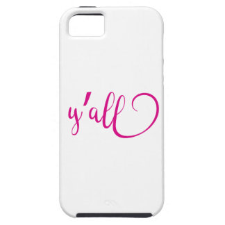 y'all iPhone 5 case