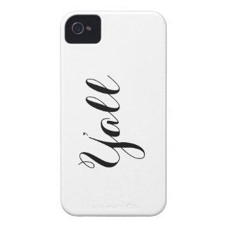 Y'all Typography iPhone 4 Case