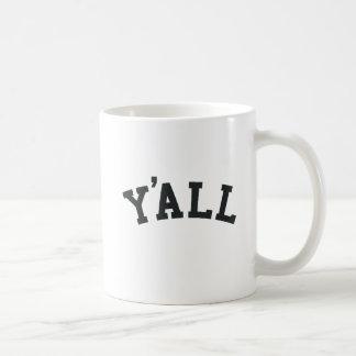 YA'LL University Alumni Parody Humor Coffee Mug