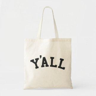 YA'LL University Alumni Parody Humor Tote Bag