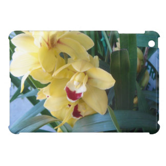 Yallow orchid iPad mini case