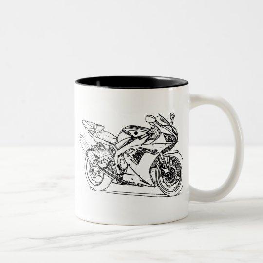 Yam R1 2002+ Two-Tone Coffee Mug