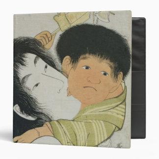Yama-Uba and Kintoki Vinyl Binder