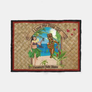 Yamamoto Hula Ohana Fleece Blanket 3