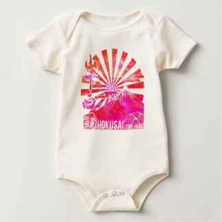 Yamashita white rain baby bodysuit