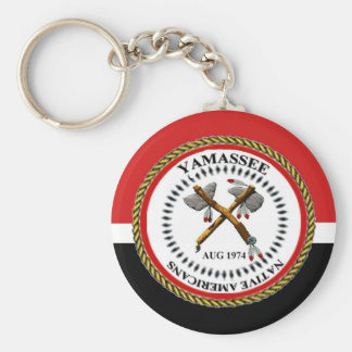 Yamassee Native Americans Key Chain