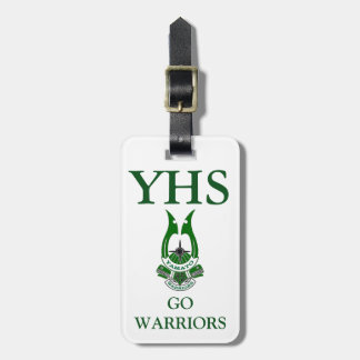 Yamato High School Warriors Luggage Tag
