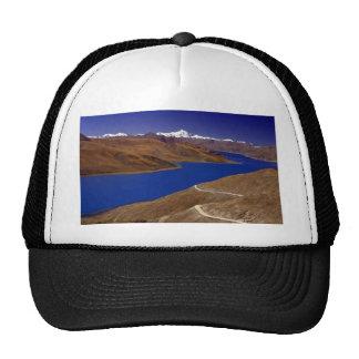 Yamdrok Yamtso, the turquoise lake, Tibet Hats