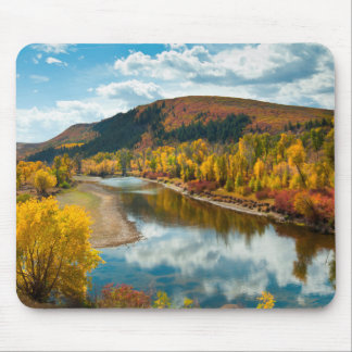 Yampa River In Autumn Mouse Pad