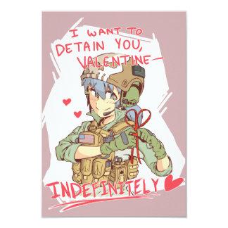 Yandere Operator Valentine 1 Card