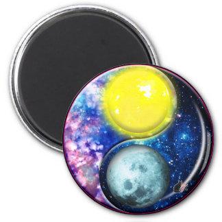 Yang-Yin / Sun-Moon Magnet