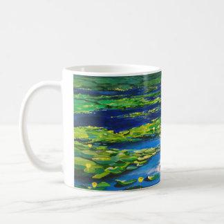 Yani's lilies coffee mug