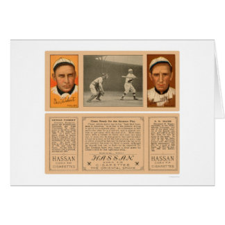 Yankee At Bat Phillies Baseball 1912 Card