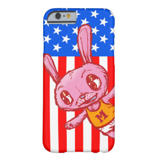 Yankee Doodle Bunny Cartoon iPhone Case