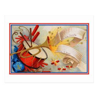 Yankee Doodle Postcard