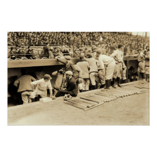 Yankee Dugout Poster