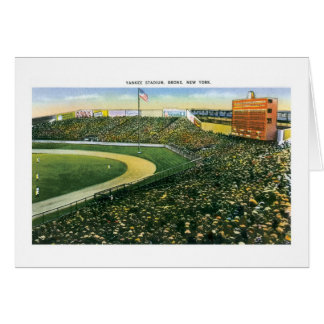 Yankee Stadium, NY Card