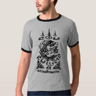 YANT BUDDHA ASIAN ART DESIGNS HANUMAN T-Shirt
