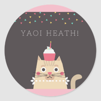 Yaoi Heath Sticker
