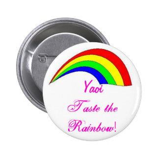 Yaoi - Taste the Rainbow 2 Inch Round Button