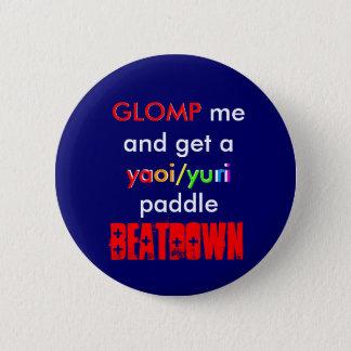 Yaoi/Yuri Paddle BEATDOWN 2 Inch Round Button