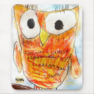 YAP | Designer Owl | Youth Art Project Mouse Pad