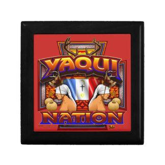 Yaqui Nation Flag Deer Dancer design Gift Box