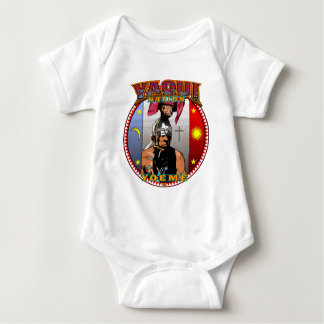 Yaqui Yeome Deer Dancer design Baby Bodysuit