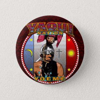 Yaqui Yoeme Deer Dancer design 2 Inch Round Button