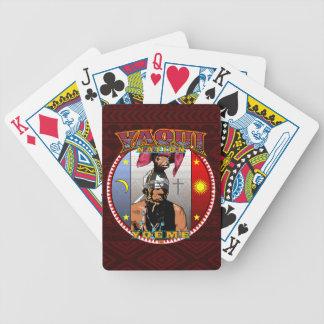 Yaqui Yoeme Deer Dancer design Bicycle Playing Cards