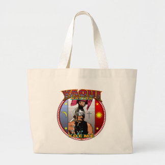 Yaqui Yoeme Deer Dancer Jumbo tote bag
