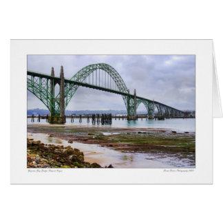 Yaquina Bay Bridge Card