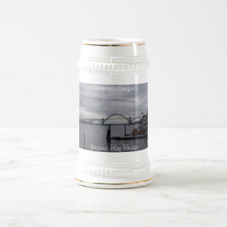 Yaquina Bay Bridge, Newport, Oregon Beer Stein