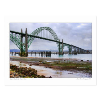 Yaquina Bay Bridge Postcard