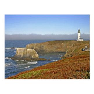 Yaquina Head Lighthouse at Newport Oregon Postcard
