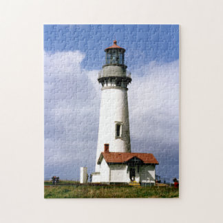 Yaquina Head Lighthouse, Oregon Jigsaw Puzzle