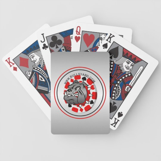 Yard Bull Dog Playing Cards