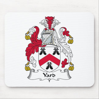 Yard Family Crest Mouse Pad
